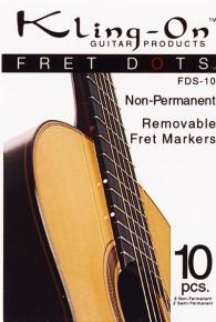 Точки для гитары Kling-on 10 штук